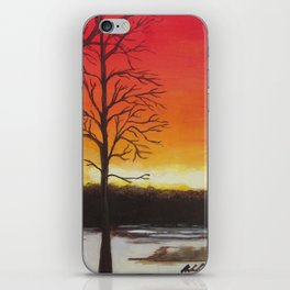 Home of Beautiful Sunsets iPhone Skin