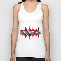 copenhagen Tank Tops featuring Copenhagen city silhouette by South43