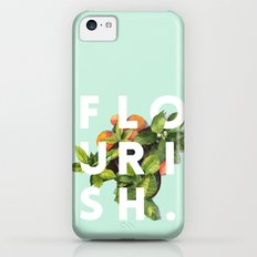 Flourish #society6 #buyart #typography #artprint iPhone 5c Slim Case