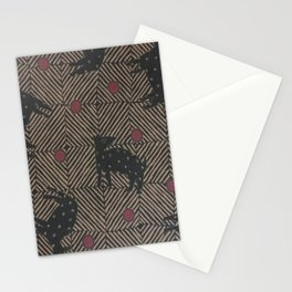 African Tribal Pattern No. 93 Stationery Cards