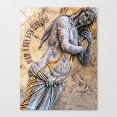 femme parisienne Canvas Print