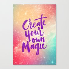 Make Magic Canvas Print