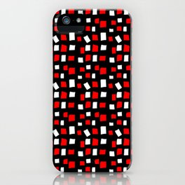 rectangle and abstraction 4-mutlicolor,abstraction,abstract,fun,rectangle,square,rectangled,geometri iPhone Case