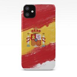 Spain's Flag Design iPhone Case