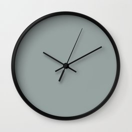 BLUE GRASS Wall Clock