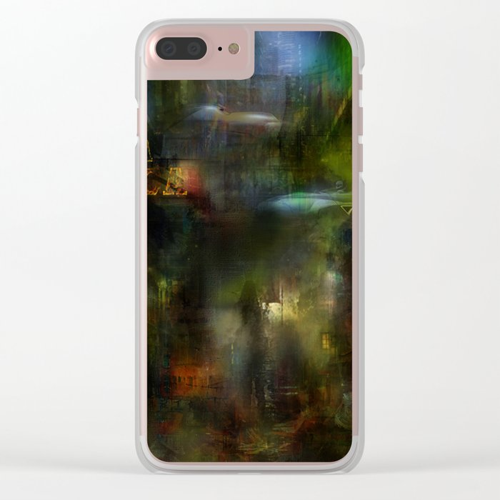 Somewhere in the future Clear iPhone Case