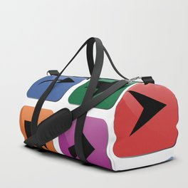 Arrow sign collection Duffle Bag