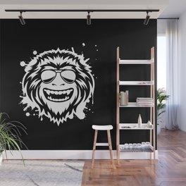 Wild Ape (Grunge) Wall Mural