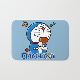 Doraemon eat Dorayaki 3 Bath Mat
