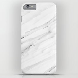 White Marble Edition 1 iPhone Case