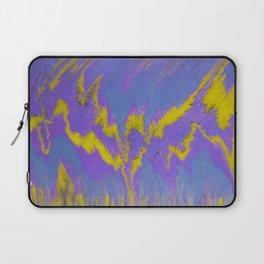 Sweetness 0002- Iridescent Fluid Painting Laptop Sleeve