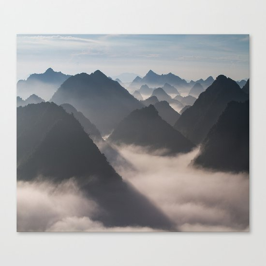 Mountains Calling Canvas Print