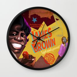 God Made me Funky Wall Clock