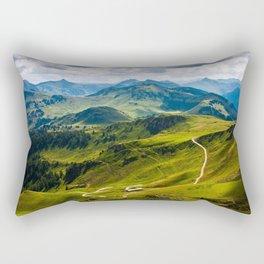 Austrian Mountains Rectangular Pillow
