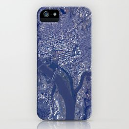 351. National Mall from Orbit iPhone Case