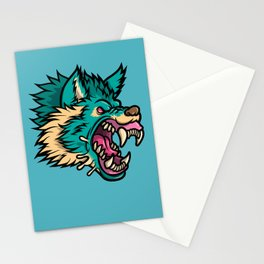 Cold Harsh Wolf Stationery Cards