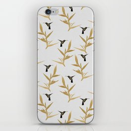 Hummingbird & Flower II iPhone Skin