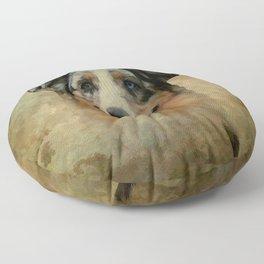 Australian Shepard - Aussie Floor Pillow