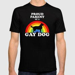 Proud Parent Of A Gay Dog T-shirt