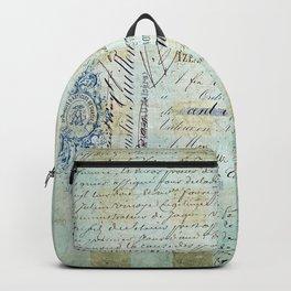 carnet de chèques Backpack