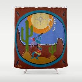 Kokopelli #2 Shower Curtain