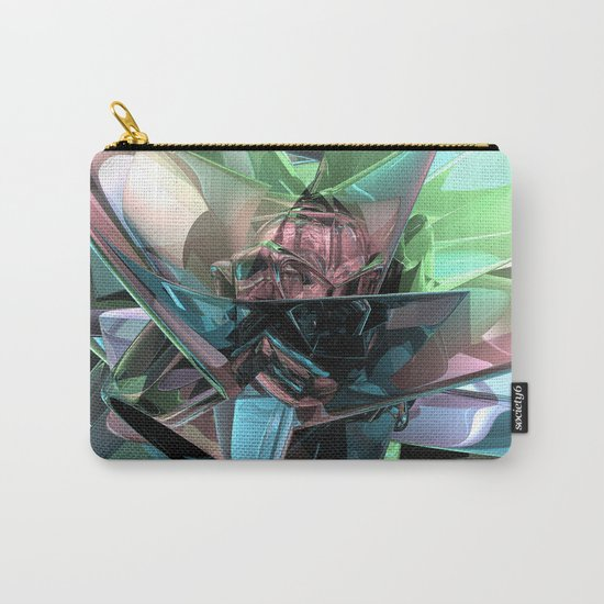 Colorful 3D Reflections Carry-All Pouch