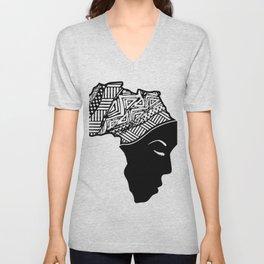 Prayer for Africa Unisex V-Neck