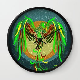 Earth Phoenix Wall Clock