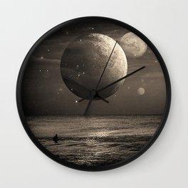 Planetary Waves Wall Clock