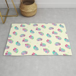 Water Bear(Tardigrades) Rug