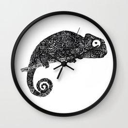 Complex Chameleon Wall Clock