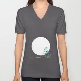 Moonlightflower Unisex V-Neck
