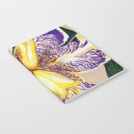 Bearded Iris Notebook
