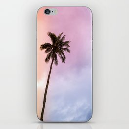 Vintage Tropical Palm Tree iPhone Skin