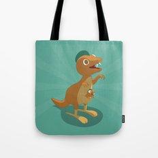 The Dino-zoo: Kangaroo-saurus Tote Bag