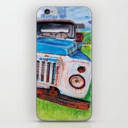 Beat up truck iPhone Skin