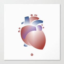 Blood Circulator Canvas Print