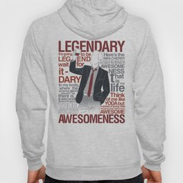 Barney Stinson - Legendary T-shirt of Awesomeness Hoody