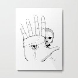 Eye 01 Metal Print