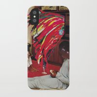tv iPhone & iPod Cases featuring Television by Lerson
