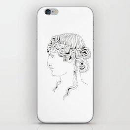 roman head iPhone Skin