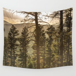 Mountain Forest New Mexico - Nature Photography Wall Tapestry