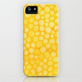 Mellow Yellow iPhone Case