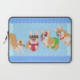 For the Love of Corgis Laptop Sleeve