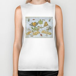 Insects Crawling Biker Tank