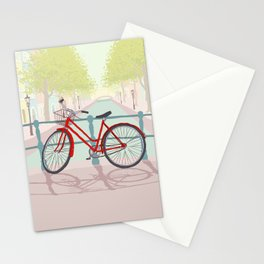 Amsterdam Canal Bike Stationery Cards