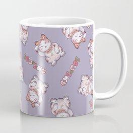Hanami Maneki Neko: Shun Coffee Mug