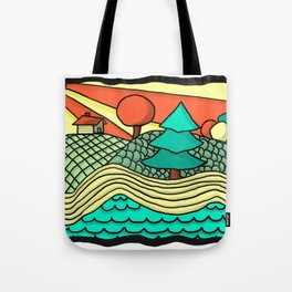 British Columbia in a Nutshell Tote Bag