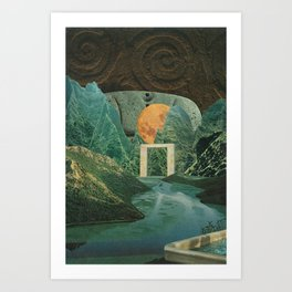The Green Place Art Print