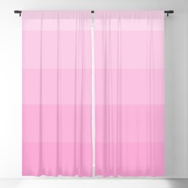 Soft Pastel Pink Hues - Color Therapy Blackout Curtain